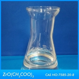 Fiber treatment Zirconium Acetate for sale