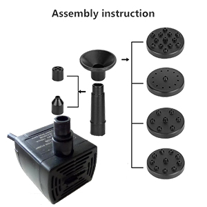 Solar Powered Water Fountain Pump Kit