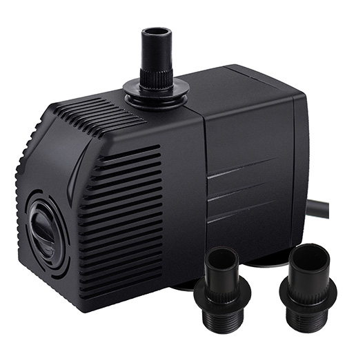 Jier 660GPH Submersible Water Pump, Pond Pump, Aquarium Pump, Fish Tank Pump With Adjustable Knob Filter Pump JR 2500F