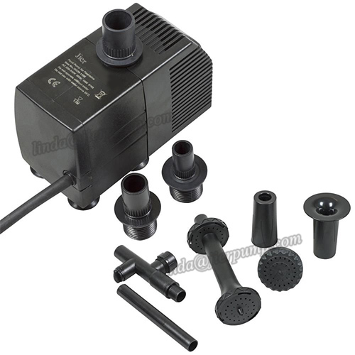 Jier 530 GPH Electrical External Pond Pumps For Wholesale