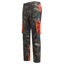 HM15001-2 Men's polyester camouflage printed knitted hunting pants with pocket