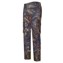 HM15004-2 Men's polyester camouflage printed knitted hunting pants with pocket