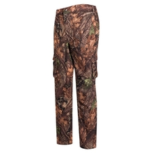 HM15006-2 Men's polyester camouflage printed knitted hunting pants with pocket