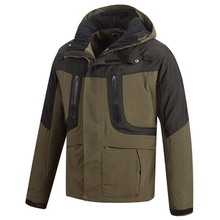 HM15014-1 Men's woven padded hunting jacket with hood and pocket