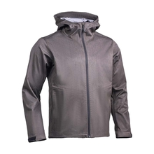HM17006-4 Men's polyester  knitted softshell hunting jacket with hood and pocket
