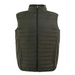 HM17015-1 Men's polyester woven padded hunting vest and pocket