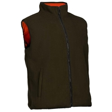 HM19015-2 Men's polyester knitted padded hunting vest and pocket