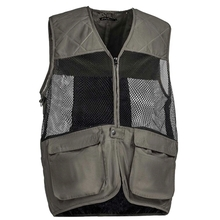 HM19019 Men's polyester woven hunting vest with pocket