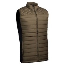 HM9018 Men's polyester woven padded hunting vest and pocket