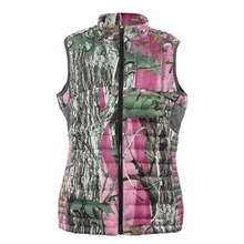 HW17005 Women's polyester woven padded hunting vest and pocket