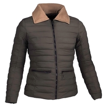 HW19006 Women's nylon woven padded hunting jacket and pocket