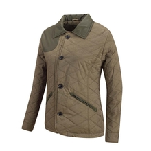 HW15001 Women's polyester woven padded hunting jacket with pocket