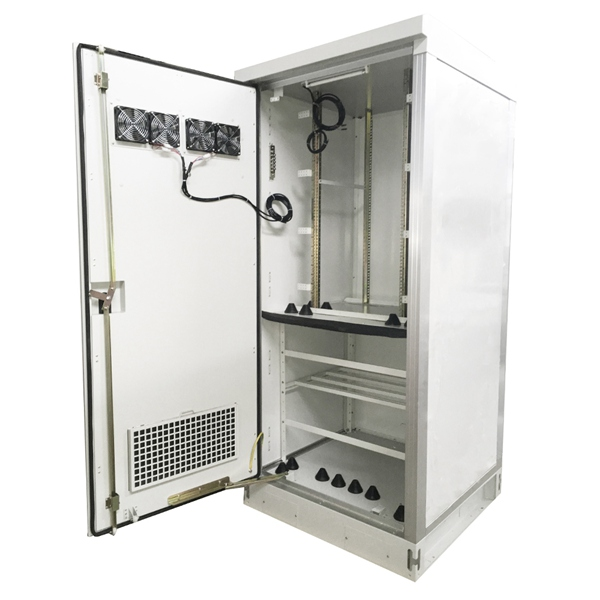 outdoor rack telecom cabinet with cooling