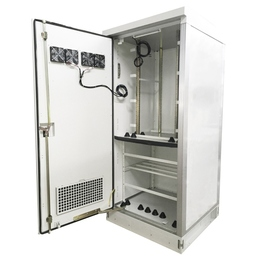 IP55 IP65 Floor mounting outdoor rack telecom cabinet with cooling