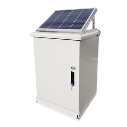 Outdoor new power cabinet solar cabinet with solar panel