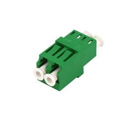 Duplex Low insertion loss high return loss LC APC fiber adapter