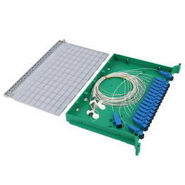 FTTH 12 24 48 Core SC Or FC Or ST Or LC ODF Rack Mount Splicing Fiber Optic Patch Panel Or Termination Box