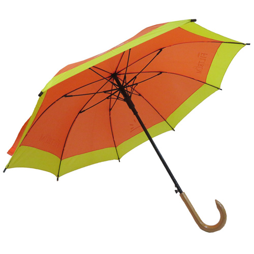 Nylon Pongee Fabric Umbrella