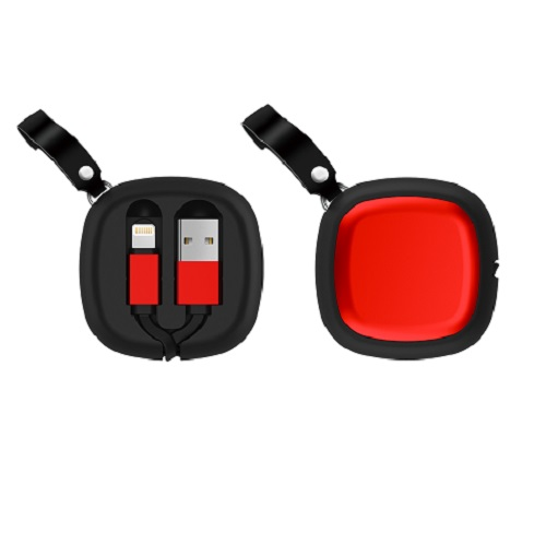 Retractable reel cable