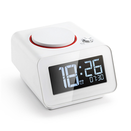 C1mini   Homtime Mini Digital Alarm Clock with Dual USB Charger  alarm clock usb charger alarm with usb charger