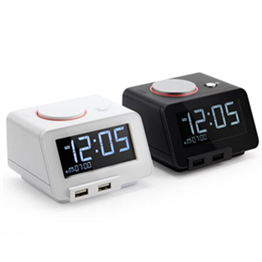 C2 Homtime Vibrating Alarm Clock with Shaker,Night Light  and Speaker Function