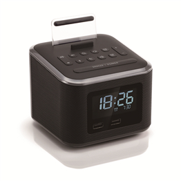 D1 alarm clock with bluetooth speaker bluetooth alarm clock