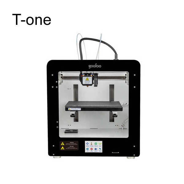 High intelligence dual color professional FDM goofoo 3d printer as one of China best manufacturers
