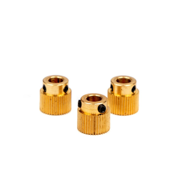 Standard high quality hot selling brass drive gear for goofoo 3d printer as one of China best manufacturers