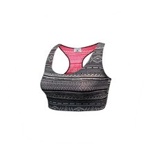 Athletic Undergarment Women Yoga Bra Fitness Top Athletic Running Shockproof Padded Active Wear Gym Vest