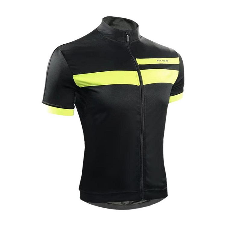 Hot Selling China Good Price Custom Breathable Black Cycling Jersey Set For Men