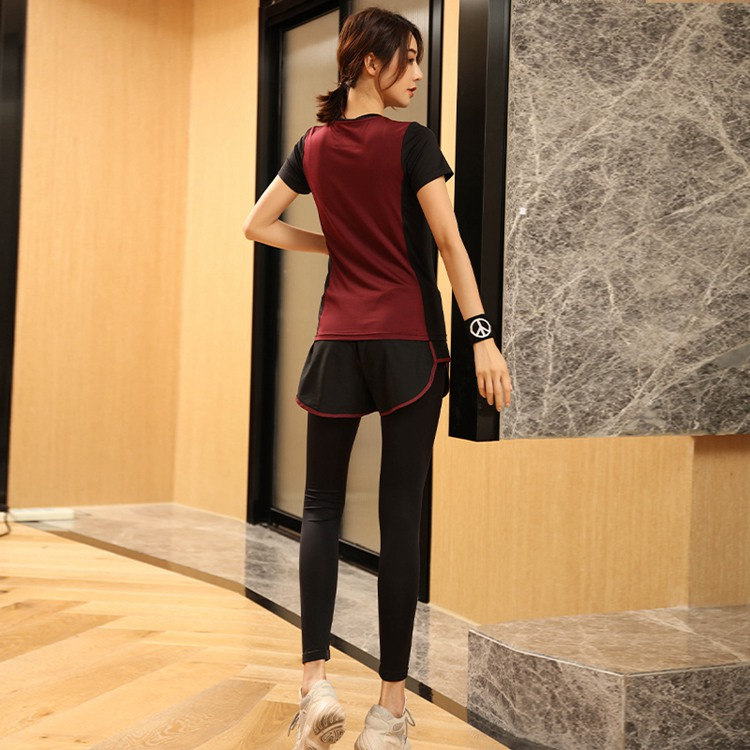 Women Yoga Shirt for Fitness Running Sports T Shirt Gym Quick Dry seamless Breathable Exercises Short Sleeve