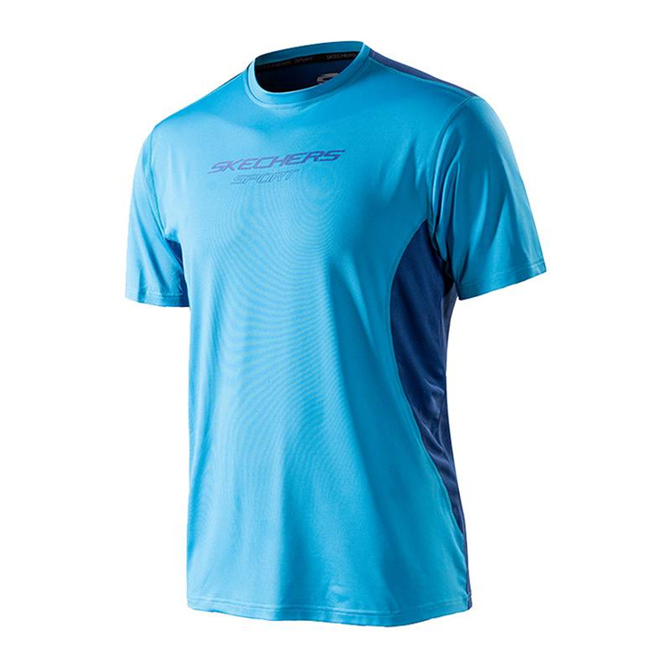 Men's Sports Active Running T Shirts Short Sleeves Quick Dry Training Shirts