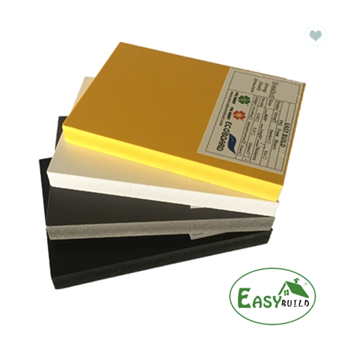 Width 1.22m 1.56m 2.05m Colorful High Density Hard Rigid PVC CO Extrusion Board