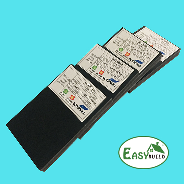 18mm Black Color 0.5 Density Pvc Foam Sheet For Furniture And Cabinet Making