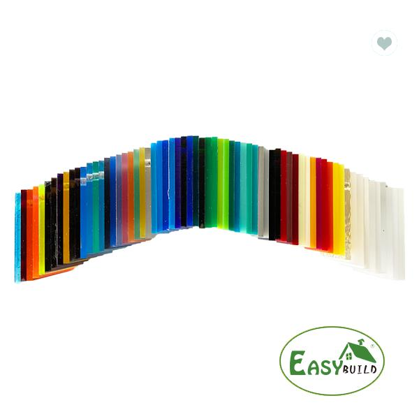 2mm To 50mm Colorful Acrylic Sheet For Logo Design Engraving And Signage