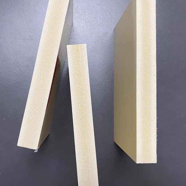 Ivory Color PVC Foam Board 0.5 Density Foam Plastboard 1.22m*2.44m Kitchen Board