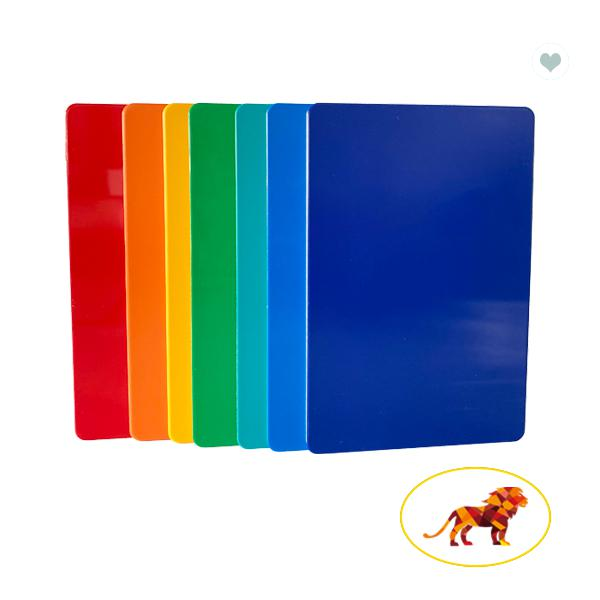 Color Glossy Wall Cladding 4mm 5mm Aluminum Composite Panel With Aluminum Skin 0.3mm