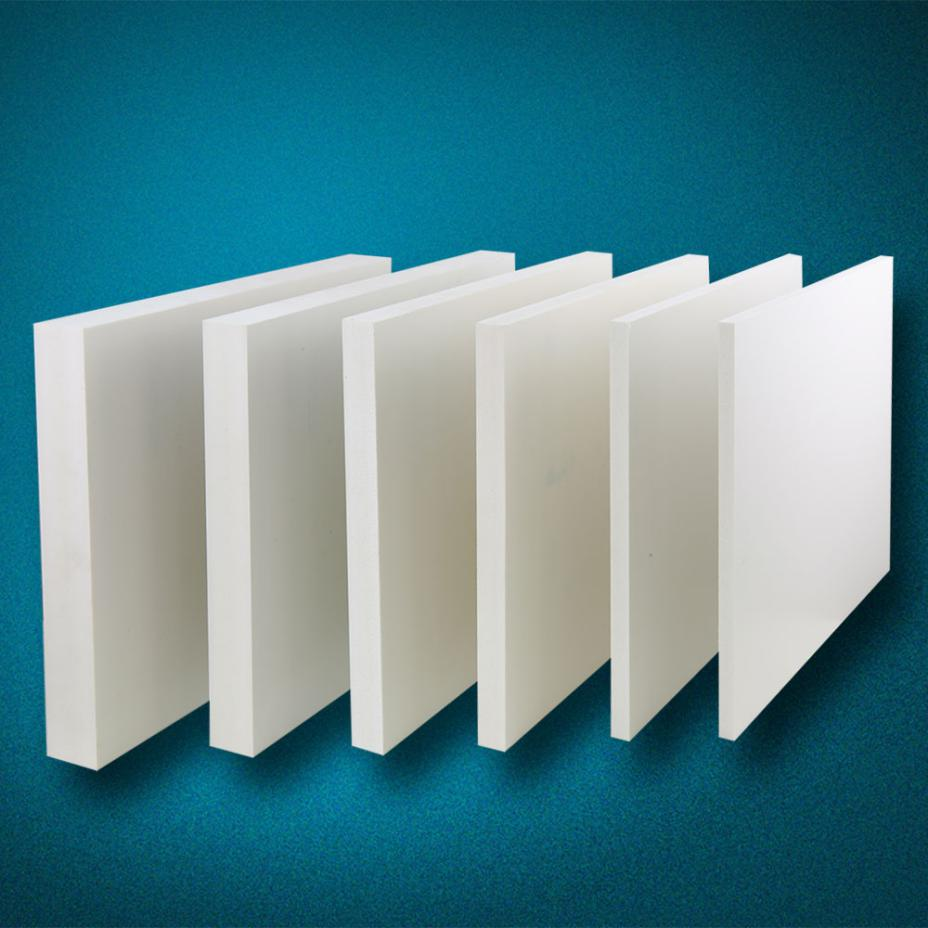 High Glossy Smooth Surface Pvc Foam Sheet Furniture Cabinet Making White Or Black Co-extrusion Board