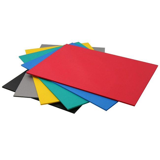 1.22*2.44m Color PVC Panel Expanded  PVC Foam Colorful Board 7/12/15/17/18mm