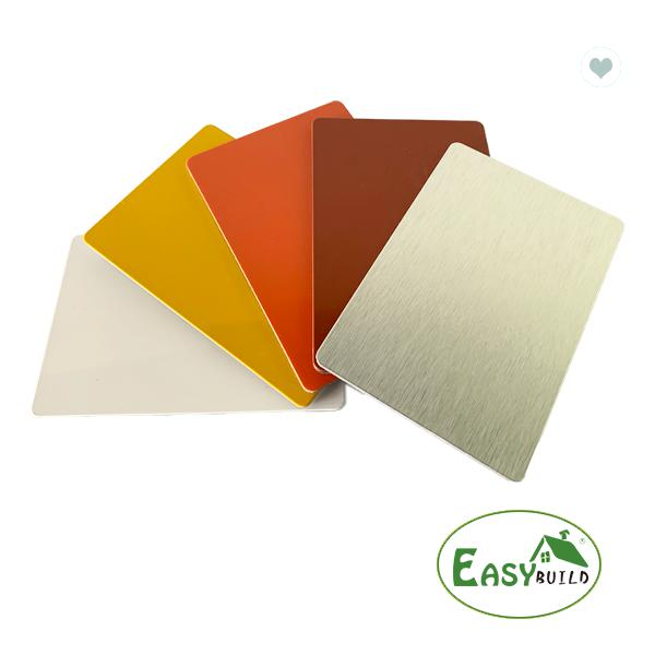 4mm Thick 0.25mm Alu Thick Pe Coated 4*8ft Aluminum Composite Panel
