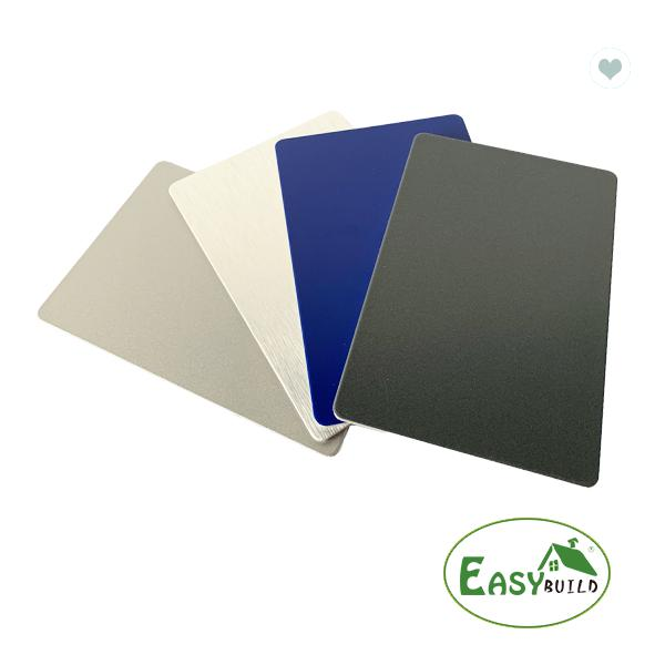 1.25*3.25m Pe Coated Aluminum Composite Signage Panel Glossy Surface