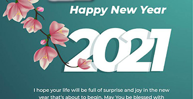 Happy New Year and our next year wishes