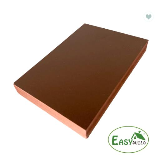 4*8ft 15mm/17mm/18mm Red Brown PVC Foam Board