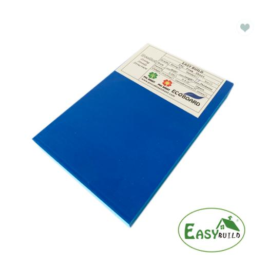 4*8ft 15mm/17mm/18mm Sea Blue PVC Foam Board
