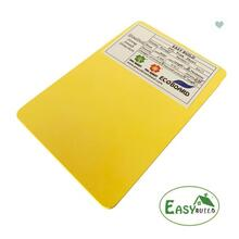 4*8ft 9mm/12mm/15mm/18mm Yellow PVC Foam Board
