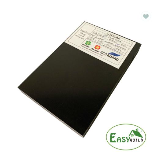 4*8ft 9mm/12mm/15mm/17mm/18mm Black PVC Foam Board