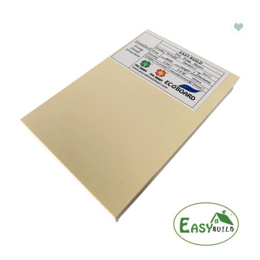 4*8ft 12mm/15mm/17mm/18mm Ivory White PVC Foam Board