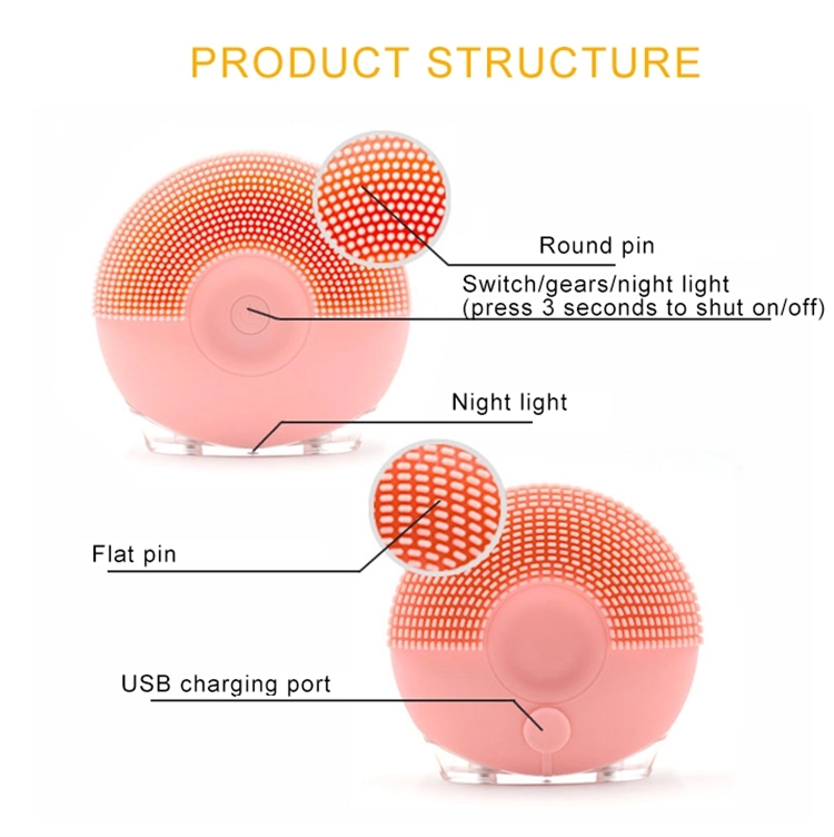 Deep Clean Face Multifunction Face Beauty Facial Massager With Electric Facial Brush
