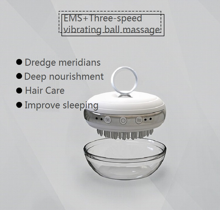 Electric Vibrating Massage Hair Comb Beauty Care Hair Brush
