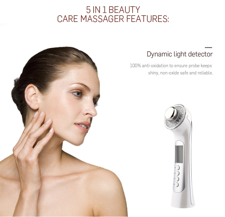 5 In 1 Rechargeable Ultra Skin Rejuvenator Beauty Messager